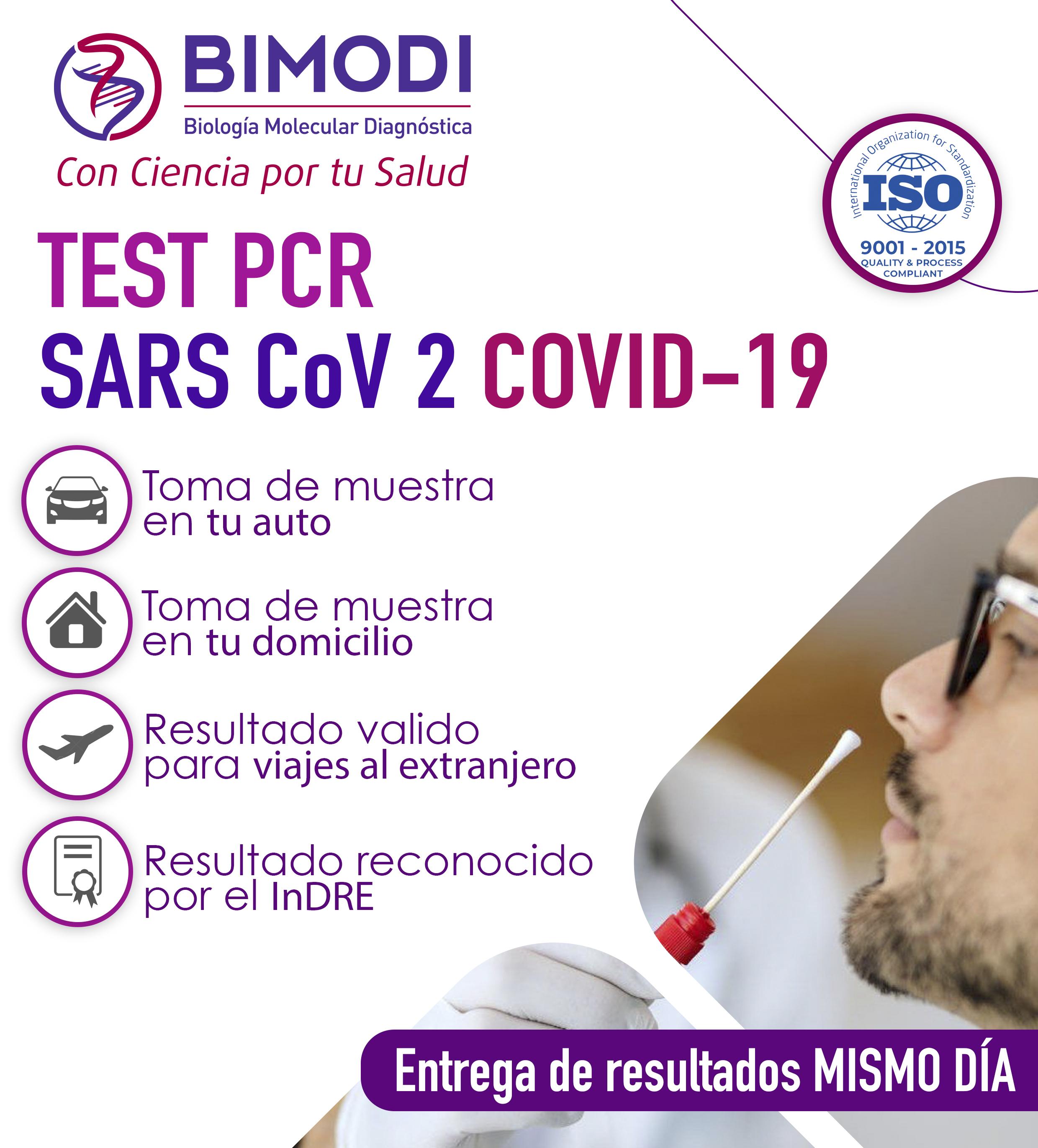 PCR TEST facebook